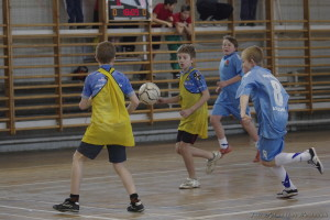 Turniej Piłki Halowej Szkół Podstawowych @ Sala sportowa, ul. Powstańców 12
