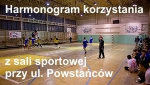 Sala sportowa ulica Powstańców
