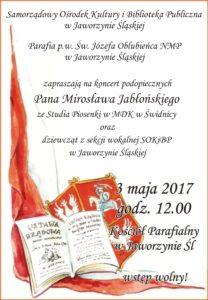 Koncert z okazji Święta Konstytucji 3 Maja @ Kościół Parafialny w Jaworzynie Śląskiej | Jaworzyna Śląska | Województwo dolnośląskie | Polska