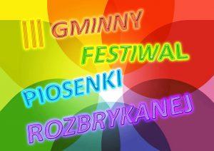 Gminny Festiwal Piosenki Rozbrykanej - przesłuchania (I etap) @ Szkoła Podstawowa w Jaworzynie Śląskiej