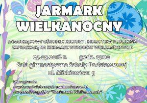 Jarmark Wielkanocny'2018 @ Szkoła Podstawowa w Jaworzynie Śląskiej | Jaworzyna Śląska | Województwo dolnośląskie | Polska
