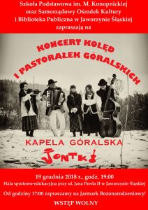 """Koncert kapeli góralskiej """"Jontki"""" @ Hala sportowo-edukacyjna"""