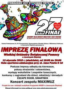 27 Finał WOŚP w Jaworzynie Śląskiej