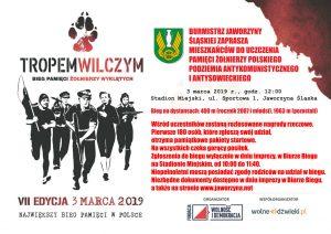 Bieg Pamięci Żołnierzy Wyklętych – Tropem Wilczym @ Stadion MIejski w Jaworzynie Śląskiej