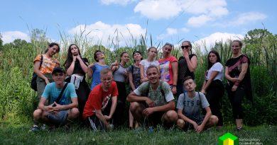Wolontariusze Klubu Młodzieżowego w Adrenalina Park