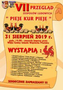 """Występ Jaworzynian na Przeglądzie """"Pieje Kur Pieje"""" @ Udanin"""